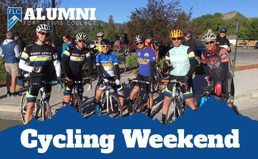 alumni cycling weekend